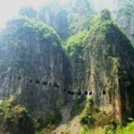 China Travessia montanha Taihang  Imperdivel