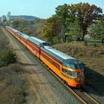 Passeio de Trem em Mineapolis USA apenas Um dos Passeios