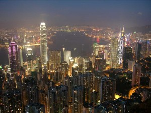Hong-Kong-01-06-Central-District-From-Victoria-Peak-Nighttime
