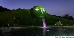 Fontes de águas Artificiais Swarovski Crystal Worlds3  .jpg