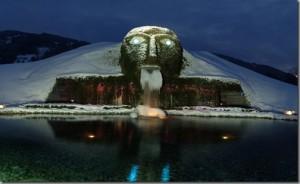 Fontes de águas Artificiais Swarovski Crystal Worlds1  .jpg