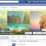 Facebook um Incentivo para Viajar