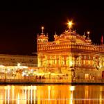 Índia templo dourado